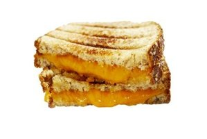 A gooey, grilled-cheese sandwich starts with a sandwich toaster.