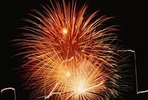 Only certain types of fireworks are approved by the federal government for consumer use.