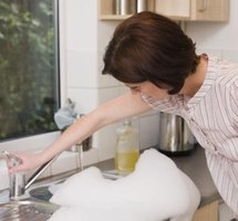 A clogged sink can make a smelly mess.