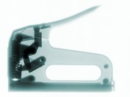 Staple guns can be hand actuated or electric.
