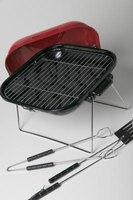 Use your charcoal grill's dampers to control temperature.