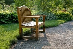 Your outdoor wood bench is vulnerable to the elements.