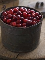 Cranberries are a natural way to fight urinary tract infections and the common cold.