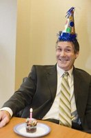 A 60-year-old man's birthday celebration can be more fun with a theme.