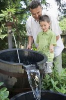 Shallow wells can be an economical source of irrigation water.