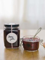 Fruit jams and chutneys are high-acid preserves ideal for hot water bath canning.