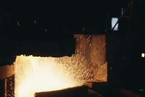 Hardening steel requires high heat and generally rapid cooling.