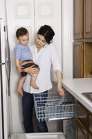 Run the dishwasher on high temperatures to sterilize baby bottles.