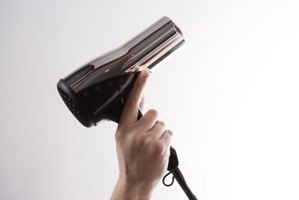 A hair dryer will help cleaned clogged fittings and pins.