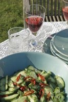 English cucumbers can be made into delicious recipes.
