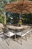 Patio furniture should be waterproofed to stand against the elements.