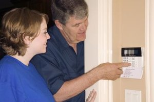 An home alarm's backup battery will work only so long.
