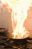 A vodka flambé can add flavor to a recipe and be entertaining as well.