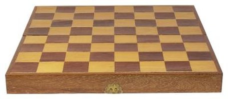 Do a Checkerboard With Stain on Wood