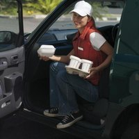Those who people consider capable delivery drivers often smile at their customers.