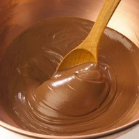 Melting chocolate is a crucial step in making peanut clusters.