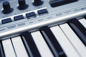 "Use a MIDI keyboard to play the FL Studio guitar ""live."""