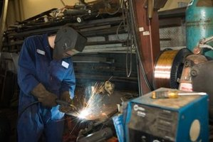 Vocational skills are necessary to work as a welder.