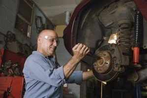 Service your Saturn L-300 brake rotors at home and save in repair costs.