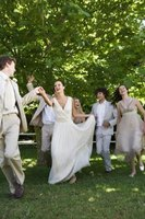 Dancing is a primary form of entertainment at weddings.