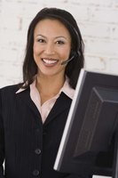 Customer service inbound sales representatives may work in a call center or from home.
