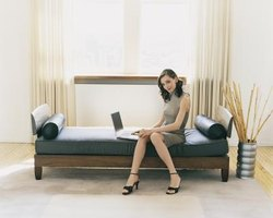 A daybed functions as a sofa by day and a bed by night.