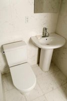 Toilet closet flanges can break, leading to sewer waste spillage.