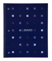 A spiral notebook can be recycled.