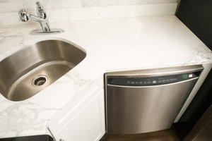 A dishwasher with arms that won't spin might not be able to finish a wash cycle.