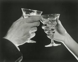 The martini became popular in the 1920s.