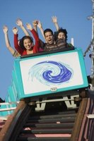 Start with a small roller coaster to practice reducing anxiety.