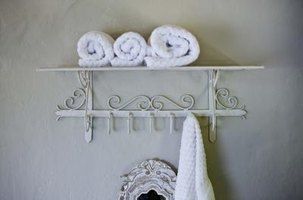 Turn simple white towels into works of art.