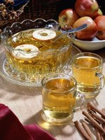 Apple cider pairs well with a variety of foods.