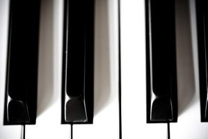 Typical digital piano keys have weights inside them.