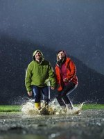 Gore-Tex fabrics create waterproof coats, shoes and pants.
