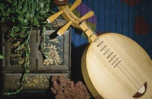 The lute is an ancient instrument dating back to Ancient Greece.