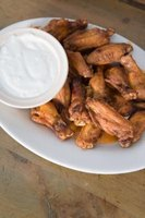 Serve charbroiled chicken wings with your favorite dipping sauce.
