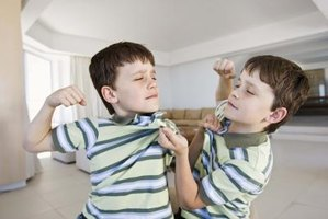 Play-fighting can go wrong and lead to abusive behavior.