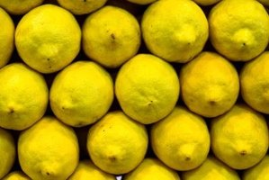 Lemons contain d-limonene, a natural insect repellent