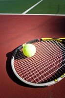 Adding weight to a tennis racket alters the way it performs.