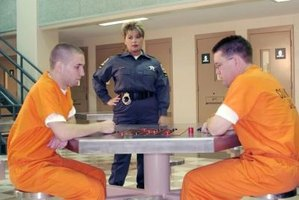 Supervising inmates is only one part of a correctional officer's job.