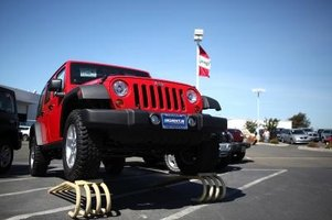 The Jeep Wrangler is one vehicle that is easy to paint.