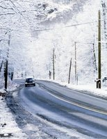 High speeds offer extra risk of slippery roads.