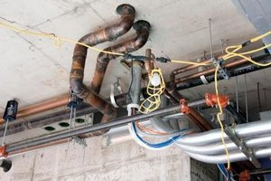 Economical PEX tubing is a viable alternative to copper pipe for household plumbing.