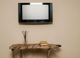 Blend the television with other decor.
