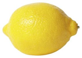 Pick lemons that are fully yellow and ripe.