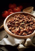 Soft beans are essential for chili.