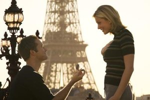 Blow her away with a cute marriage proposal.