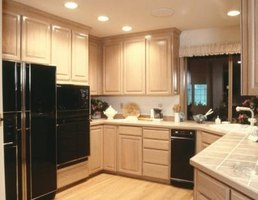 The NKBA recommends about 13 linear feet of countertop frontage.