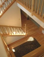 Slipper hardwood stairs can be frightening, but they dont have to be.